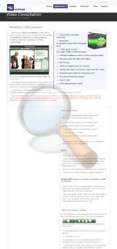 Videowhisper Video Consultation Monthly Rental preview. Click for more details