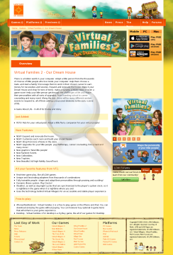 Virtual Families Dream House Windows Full Version preview. Click for more details