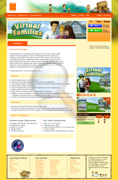 Virtual Families Windows Full Version preview. Click for more details