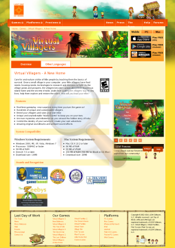 Virtual Villagers Home Windows Full Version preview. Click for more details