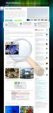 Visual Slideshow Unlimited Websites preview. Click for more details