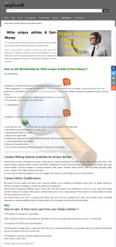 Write Unique Articles Earn Money Full Version preview. Click for more details