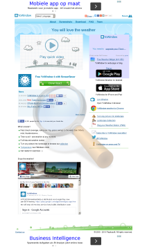 Yowindow Weather Unlimited Edition preview. Click for more details