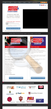 Muscle Motion Years Subscription preview. Click for more details