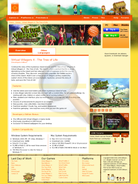 Virtual Villagers Tree Life Windows French Full Version preview. Click for more details